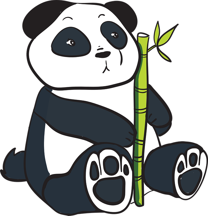 691x720 Collection Of Free Panda Transparent Bamboo Drawing Download On Ui Ex
