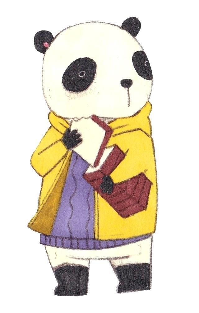 640x1006 Drawn Panda Drawn Panda Baby
