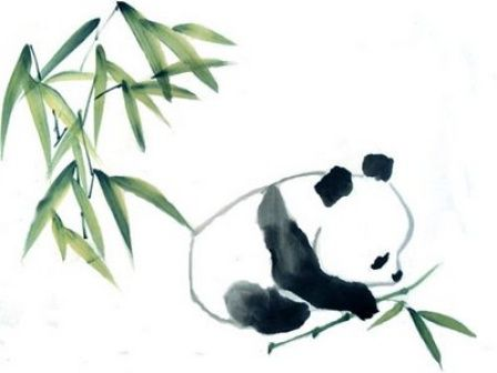 448x336 Giant Panda Drawing Pandas Need To Be Protected Asia For Kids