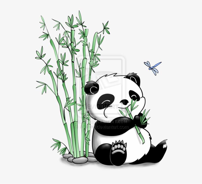 820x747 Panda Eating Bamboo