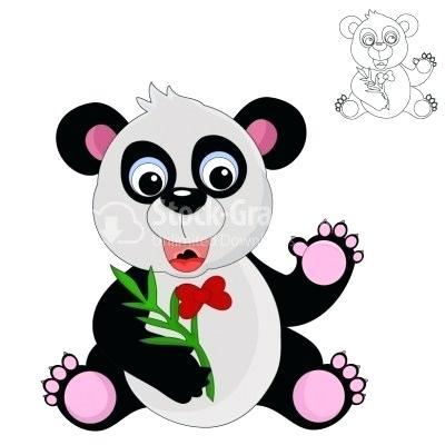 400x400 Cartoon Giant Panda Zupa
