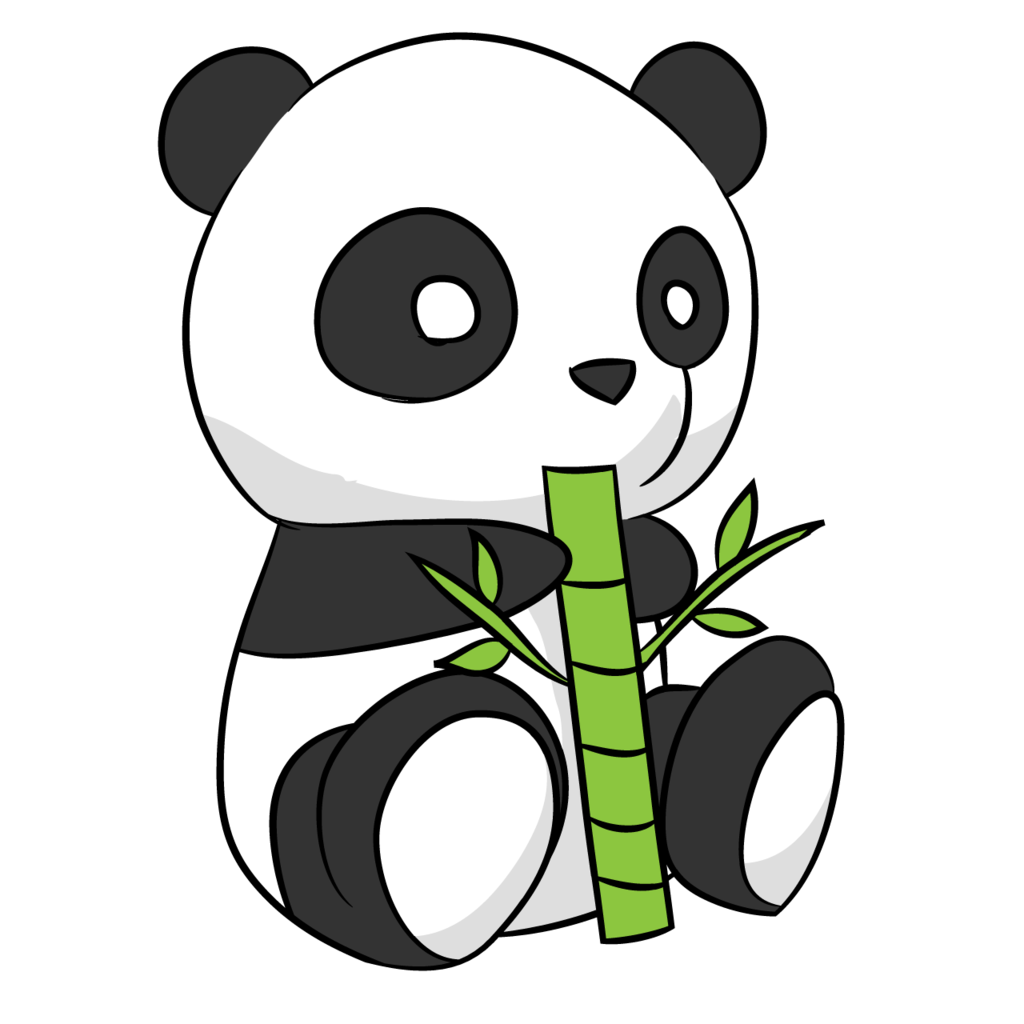 1024x1024 Collection Of Free Bamboo Drawing Panda Download On Ui Ex