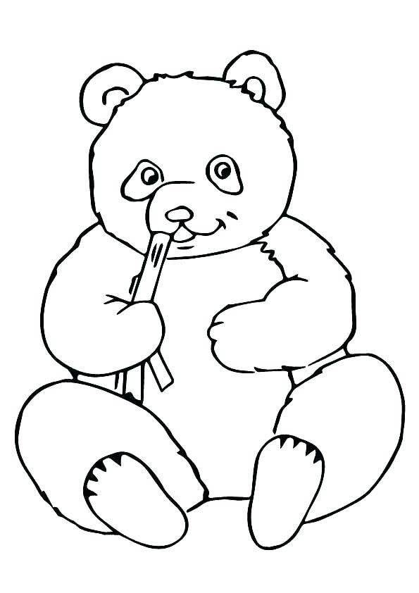 Panda Face Drawing | Free download best Panda Face Drawing