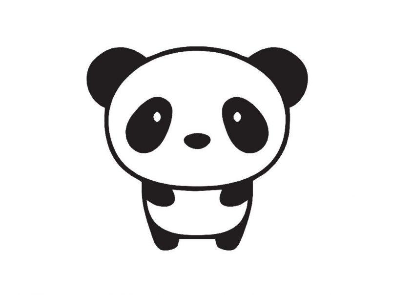 Panda Skull Drawing | Free download best Panda Skull Drawing