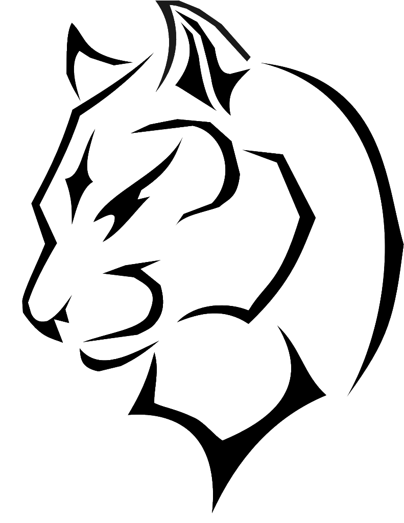 791x1024 Collection Of Free Panther Drawing Outline Download On Ui Ex