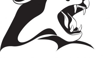 367x195 Panther Outline Vector Archives