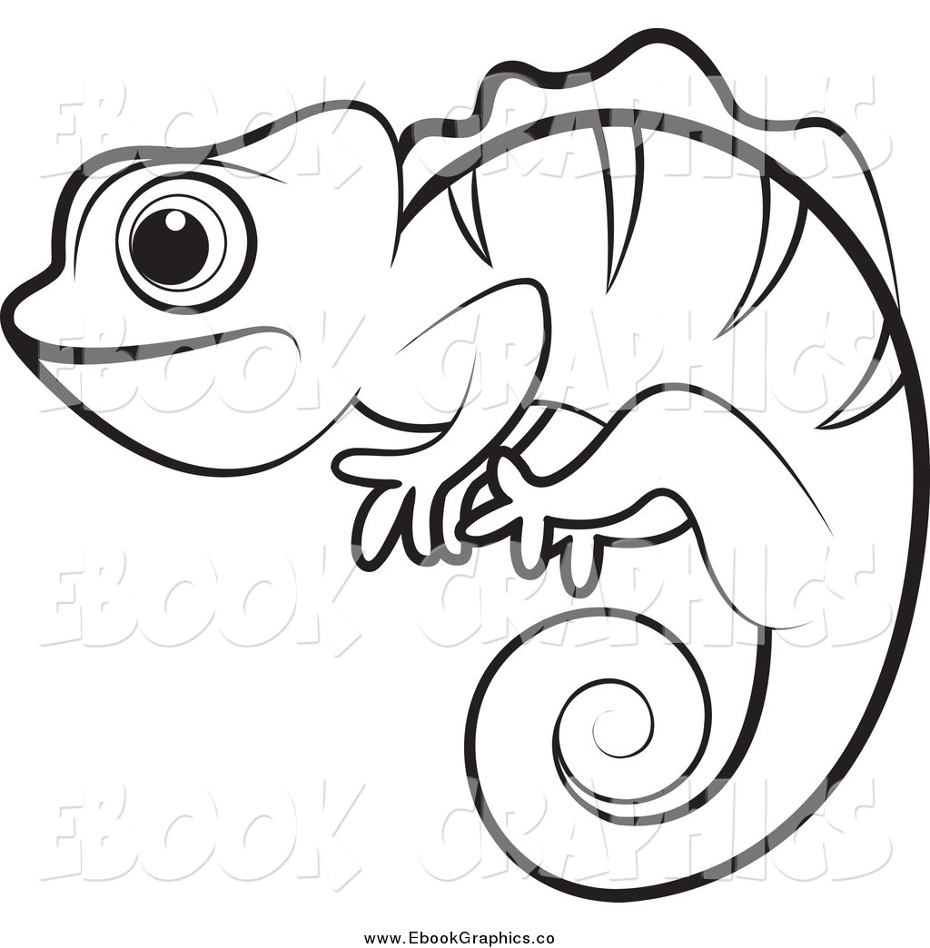 1024x1044 Panther Chameleon Clipart