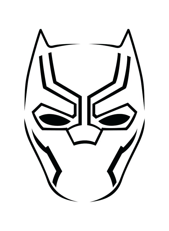 659x900 Black Panther Coloring Pages