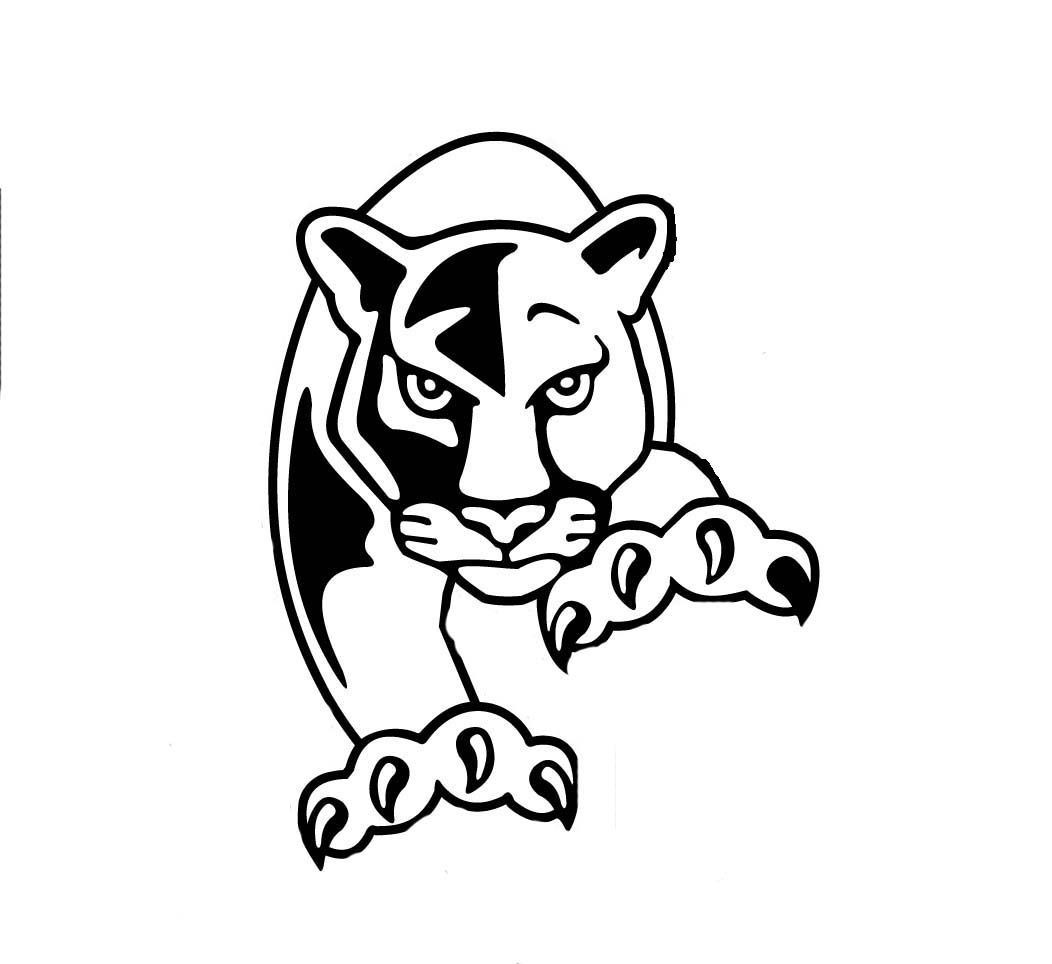 1052x964 panther head coloring page pink panther christmas pink panther