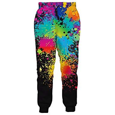 385x385 Yinhuaku Drawing Jogging Pants Pants Men's Pants Sweatpants Hip
