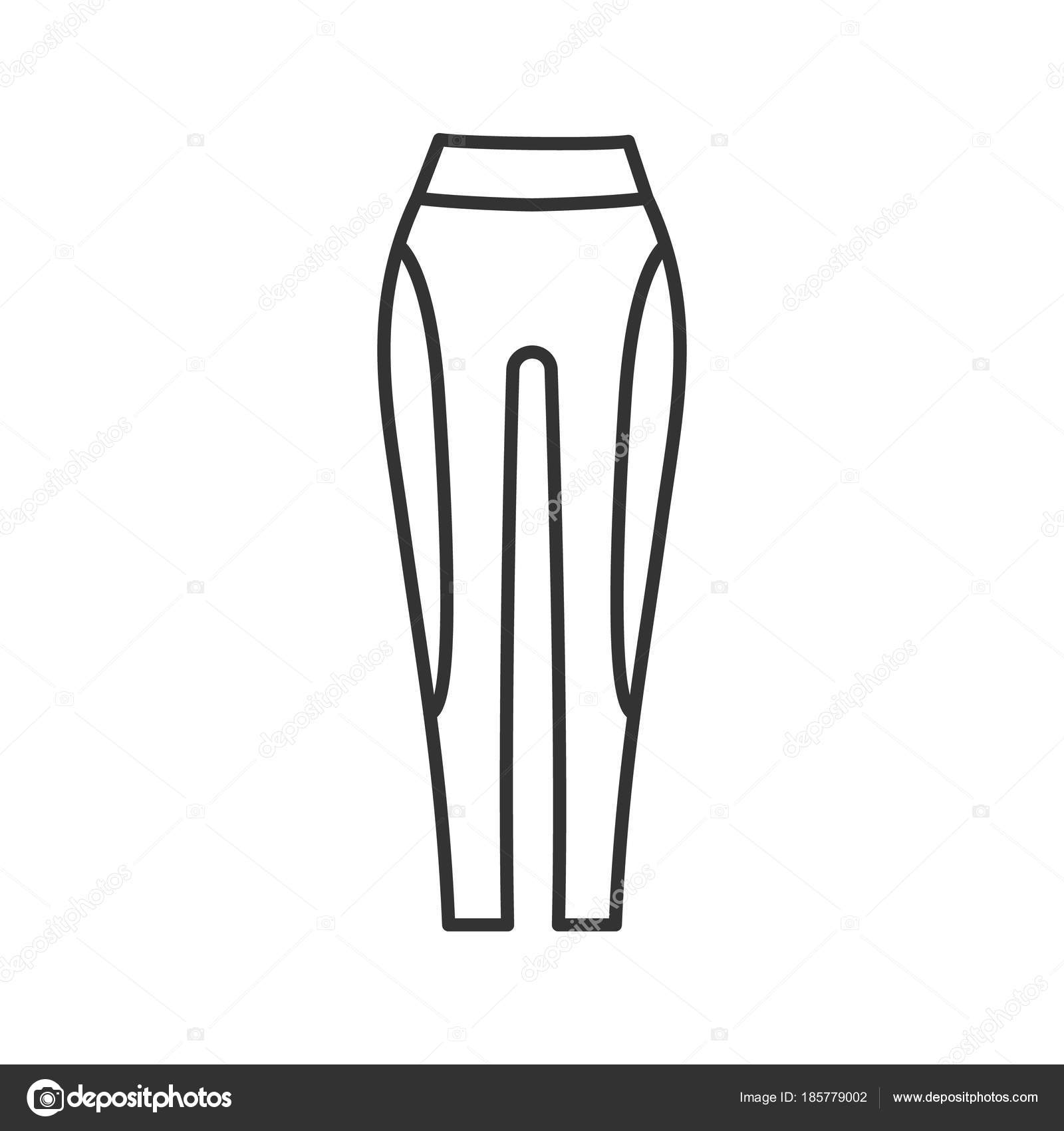 1600x1700 Pants Drawing Outline For Free Download