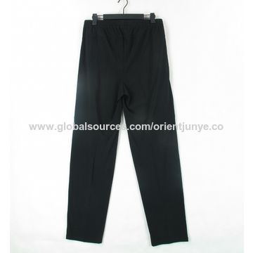 360x360 China Men's Sports Pants With Zipper Pocket, Elastic And Drawing