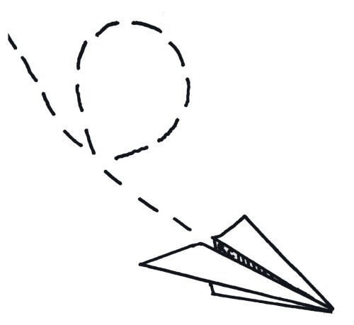 500x459 Drawing Tumblr Paper Step Airplane Step