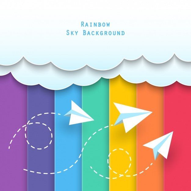 626x626 Paper Airplane Vectors, Photos And Free Download