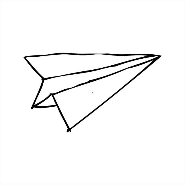 Paper Airplane Drawing Tumblr Free Download Best Paper