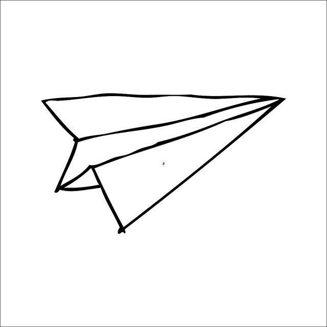 640x640 print paper plane paper plane tattoo, tattoo paper, plane drawing