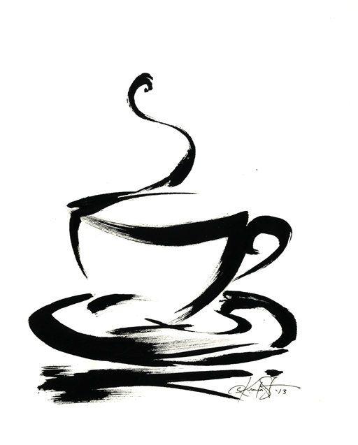 512x637 Brushstroke Coffee Cup Series