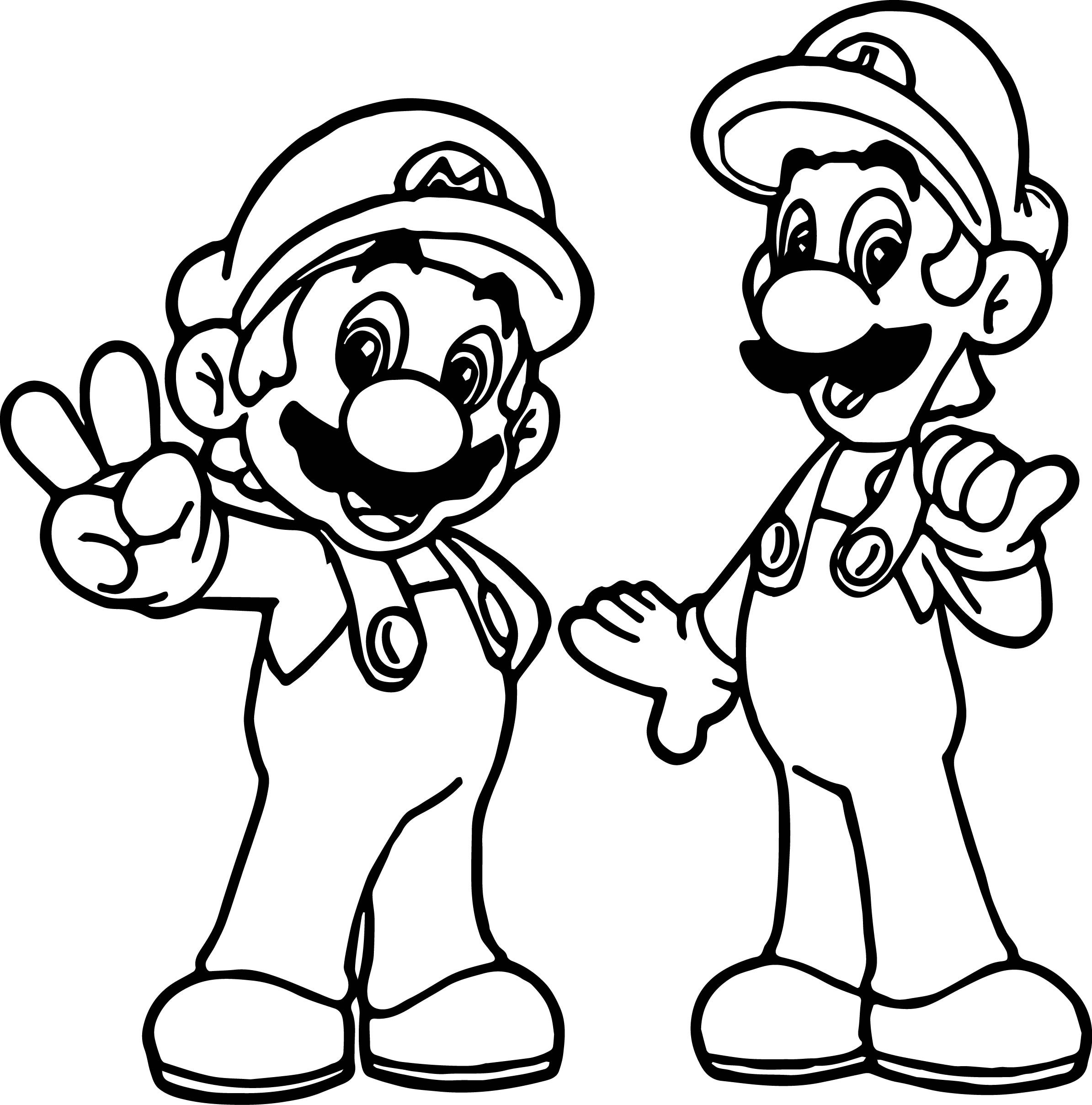 Paper Mario Drawing Free Download On Clipartmag