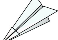 200x140 Paper Airplane Clipart Toy Paper Plane Clip Art Free Vector