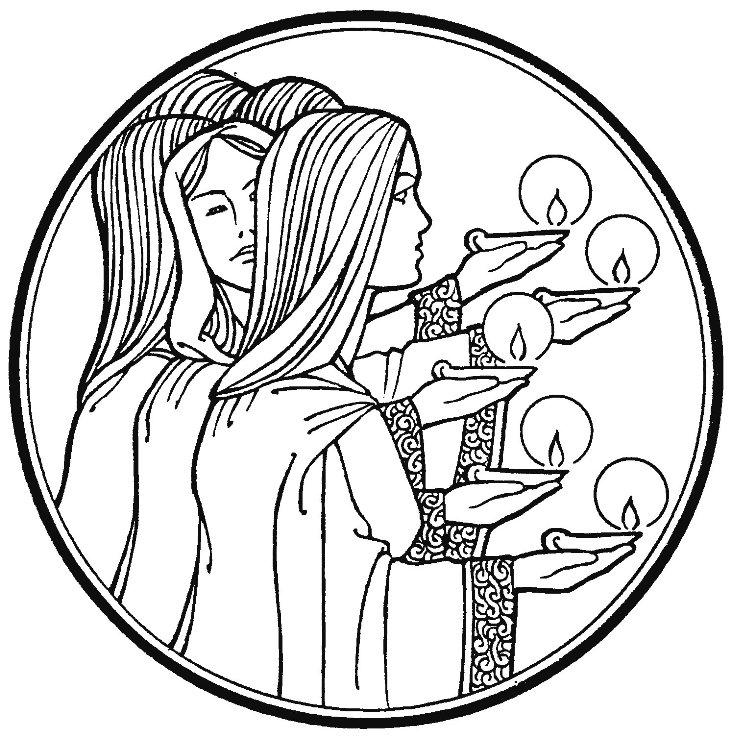 731x737 lesson parable of the ten virgins lds lesson ideas