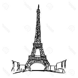 300x300 photostock vector eiffel tower paris eiffel tower france eiffel
