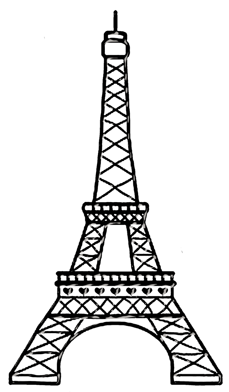 935x1600 bello clipart chic paris paris eiffel tower drawing, eiffel