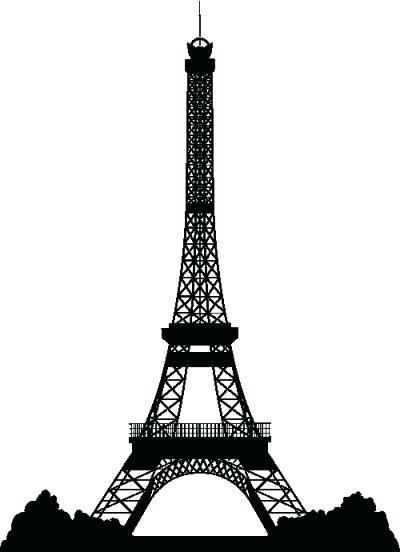 400x552 Eiffel Tower Clipart Drawing Vector Kairafanan