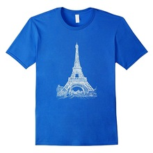 220x220 Eiffel Tower Paris Skyline Panorama Drawing New Arrival