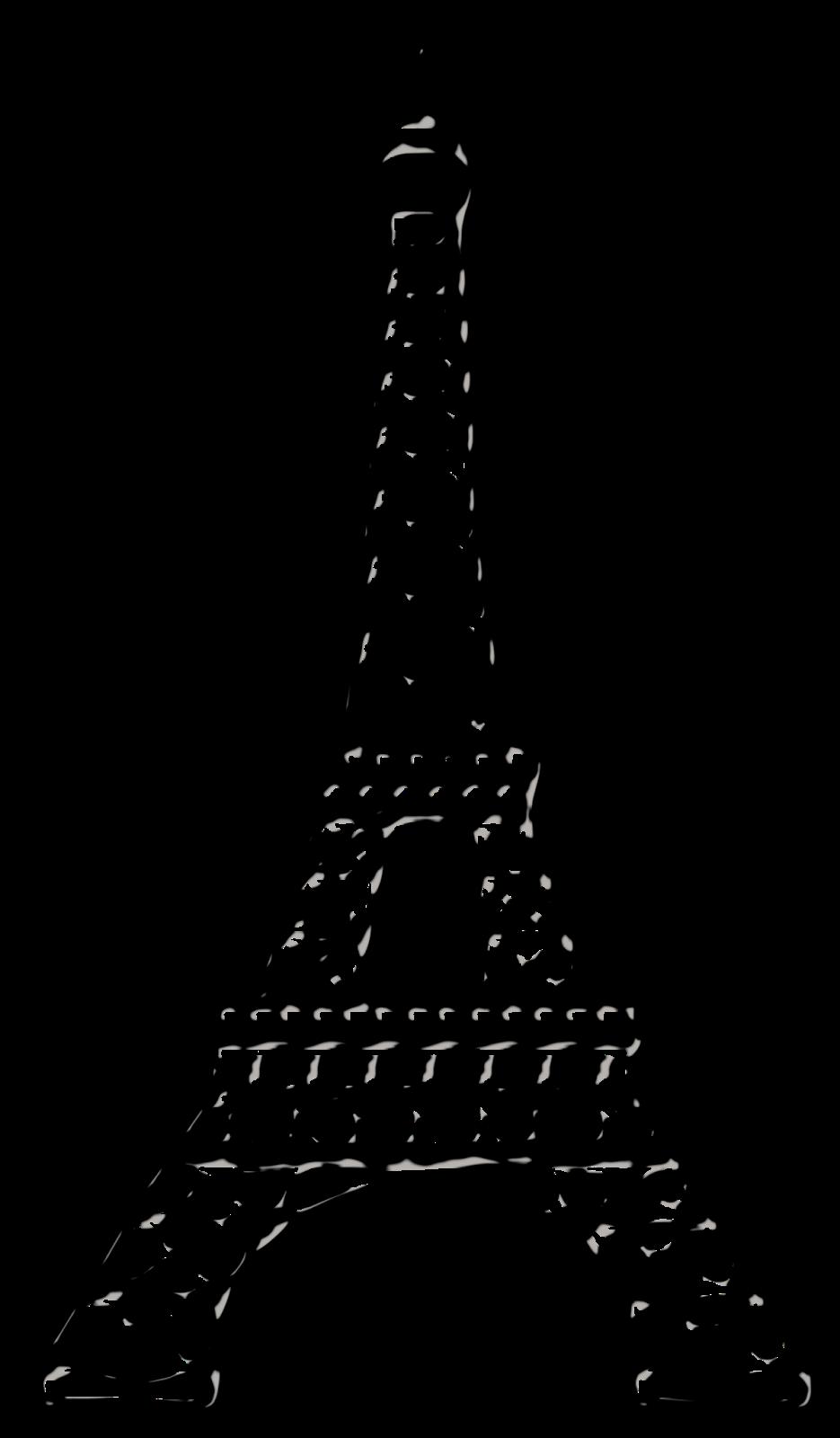 935x1600 Paris Black Clipart