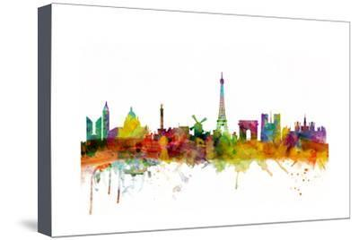 400x268 Paris France Skyline Art Print