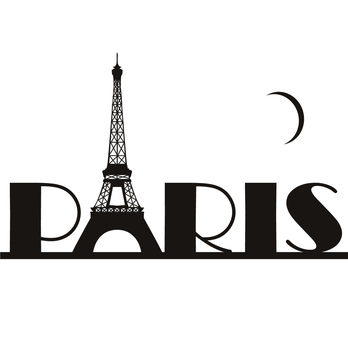 1200x1200 Clipart Photo Of Paris Collection