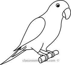 236x215 Huge Collection Of 'parrot Line Drawing' Download More Than