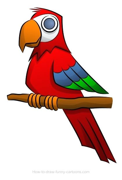 420x621 parrot drawing parrot drawing parrot easy drawing images