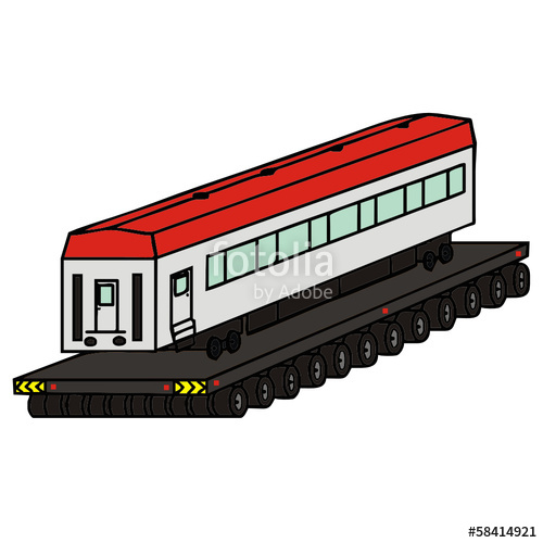Passenger Train Drawing | Free download best Passenger Train Drawing
