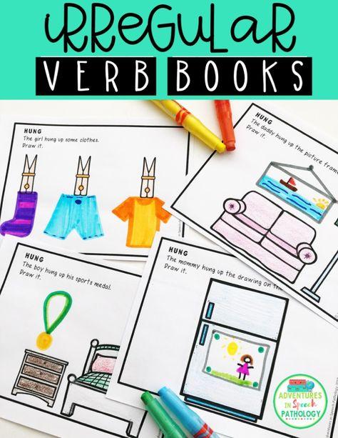 474x613 draw me irregular past tense verb mini books my tpt resources