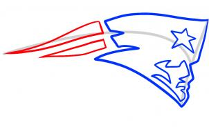 302x184 how to draw the patriots logo, new england patriots, step