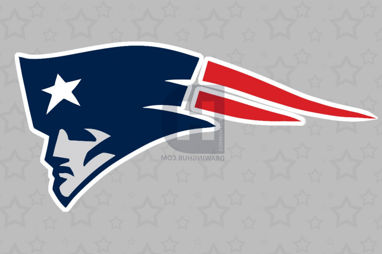 1327x883 How To Draw The Old Patriots Logo Arenawp