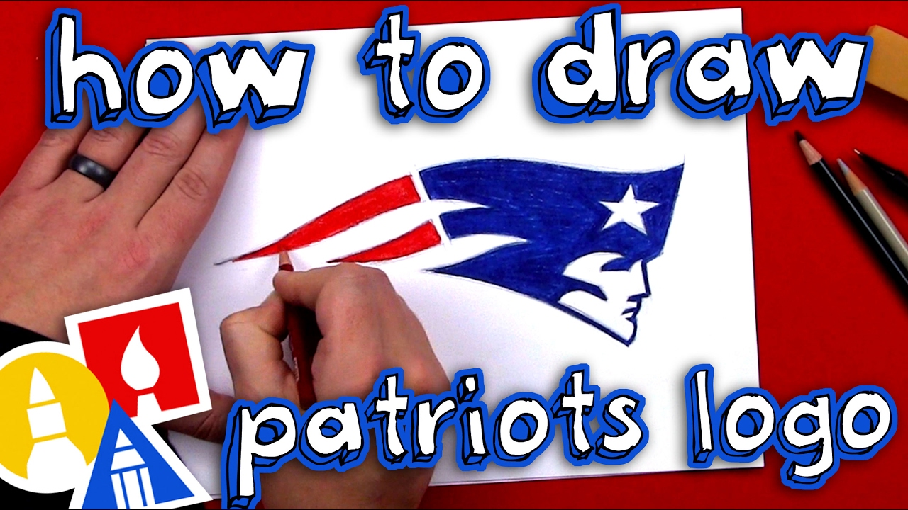 1280x720 How To Draw The Patriots Logo