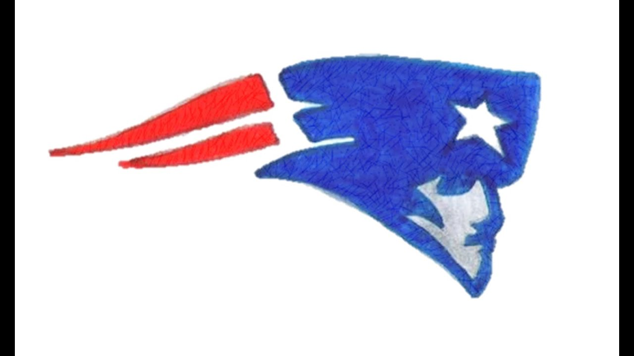 1280x720 How To Draw The New England Patriots Logo