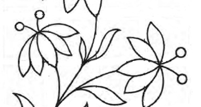 840x450 Royce Hub Embroidery Pattern Simple Floral Design