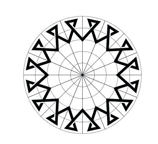 518x474 Symmetrical Design Symmetrical Calligraphic Design Symmetrical