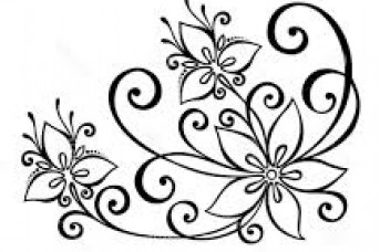 343x228 Pretty Flower Designs To Draw On Paper