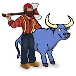 260x260 download paul bunyan free clipart paul bunyan babe the blue ox