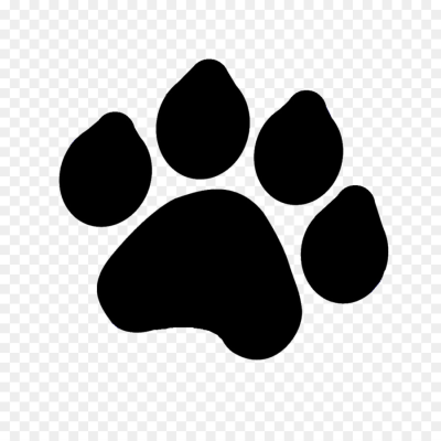 400x400 Download Free Png Tiger Paw Drawing Dog Clip Art Paw Png Download