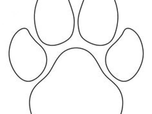 640x480 Drawing Of A Dog Paw Print Paw Print Games Drawings Dog Paws