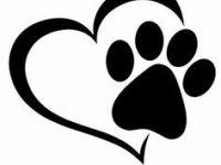 200x150 Dog Paw Print Clip Art Beautiful Bear Paw Print Drawing