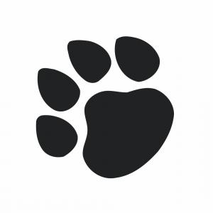 300x300 Top Bobcat Paw Print Clipart Drawing Sohadacouri