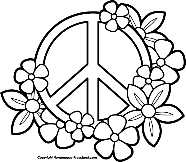 Peace Sign Drawing