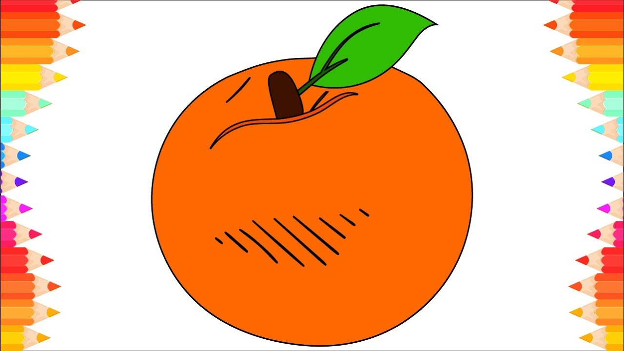 1280x720 How To Draw Fruits