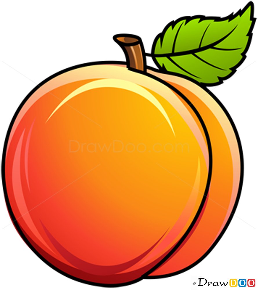 890x1000 Splendid Peach Cartoon Drawing Collection